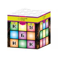 """Батарея салютов """"Кубик"""" 0,8""""х25"""