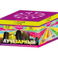 """Батарея салютов """"Лучезарный"""" 0,8""""х49"""