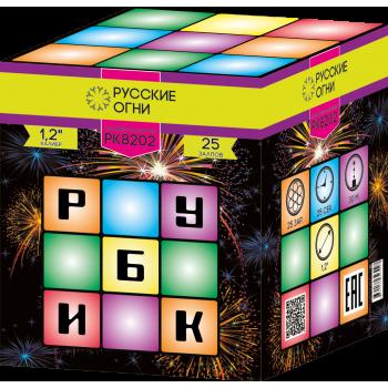 "Батарея салютов ""Рубик"" 1,2""х25"