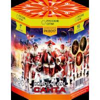 """Батарея салютов """"Капитан Санта"""" 1""""х19 залпов PK8017"""