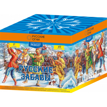 """Батарея салютов """"Русские забавы"""" 1""""х49"""
