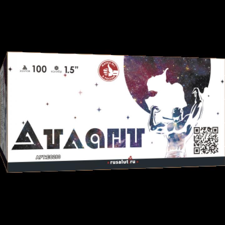 """Батарея салютов """"Атлант"""" 100 х 1,5"""""""