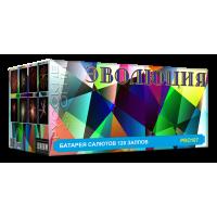"""Батарея салютов """"Эволюция"""" 1,2""""+1,5""""х120 залпов PRO107-2"""