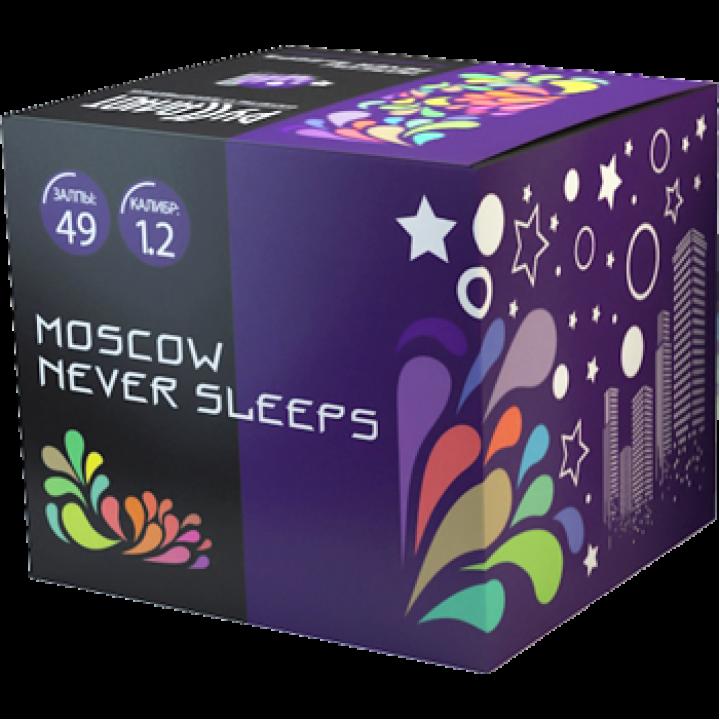 "Батарея салютов ""Moscow Never Sleeps"" 1,2""х49 залпов EC231"