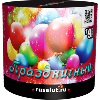 "Батарея салютов ""Праздничный"" 1""х9"
