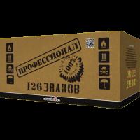 """Батарея салютов """"Профессионал"""" 1,2""""х126 залпов EC301"""