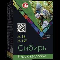"""Батарея салютов """"Сибирь"""" 1,2""""х16"""