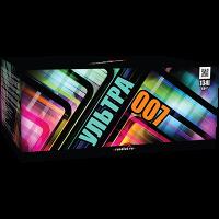 """Батарея салютов """"Ультра 007"""" 0,8-1""""х134"""