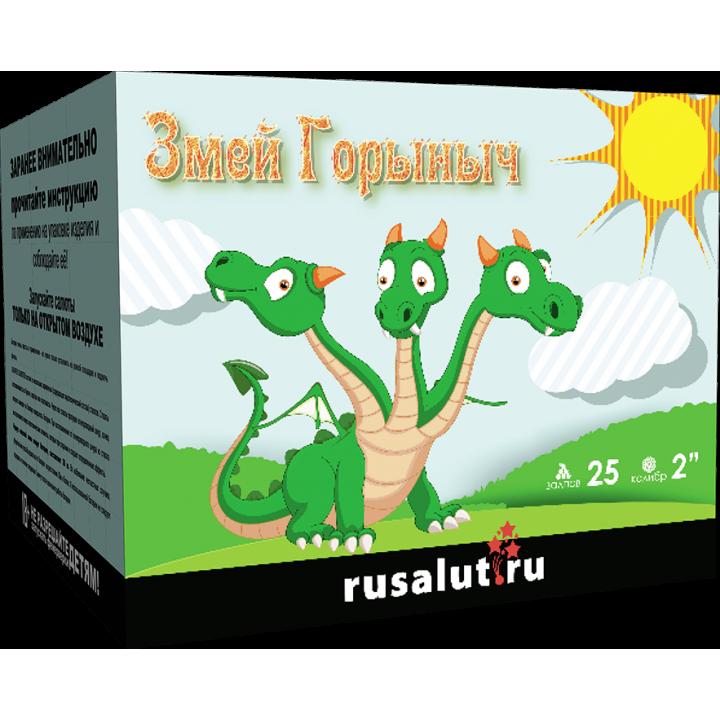 "Батарея салютов ""Змей горыныч"" 25 х 2"""