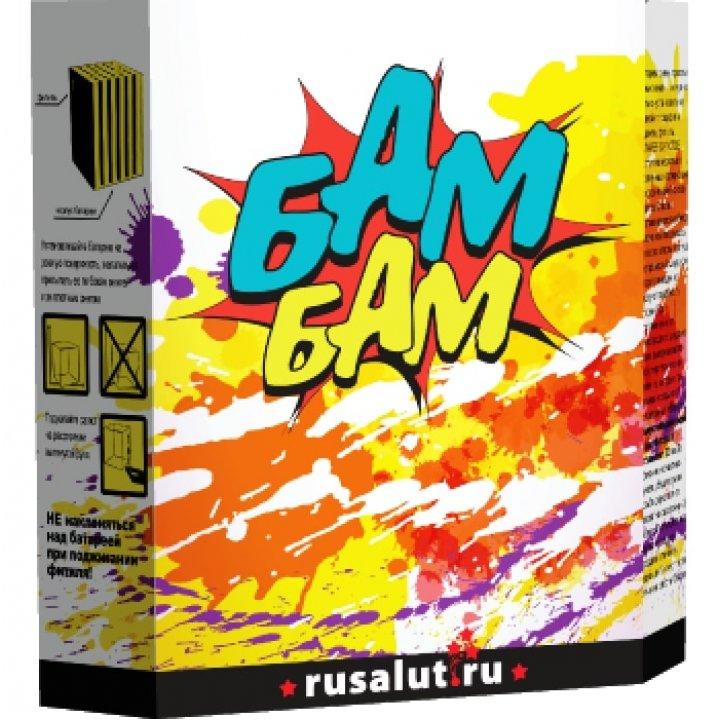 "Батарея салютов ""Бам Бам"" 1""х13"